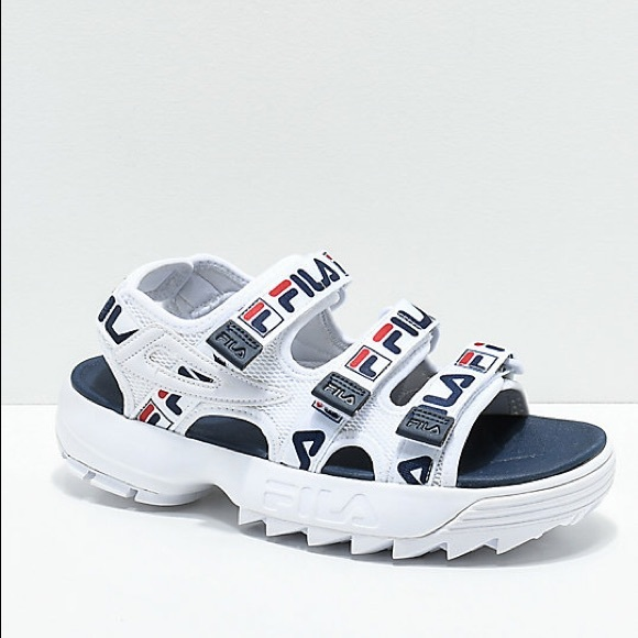 Fila Disruptor Sandal Worn once Size 7 NWT